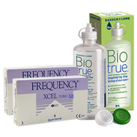 frequency xcel toric XR (cx3) x2 + biotrue300ml1